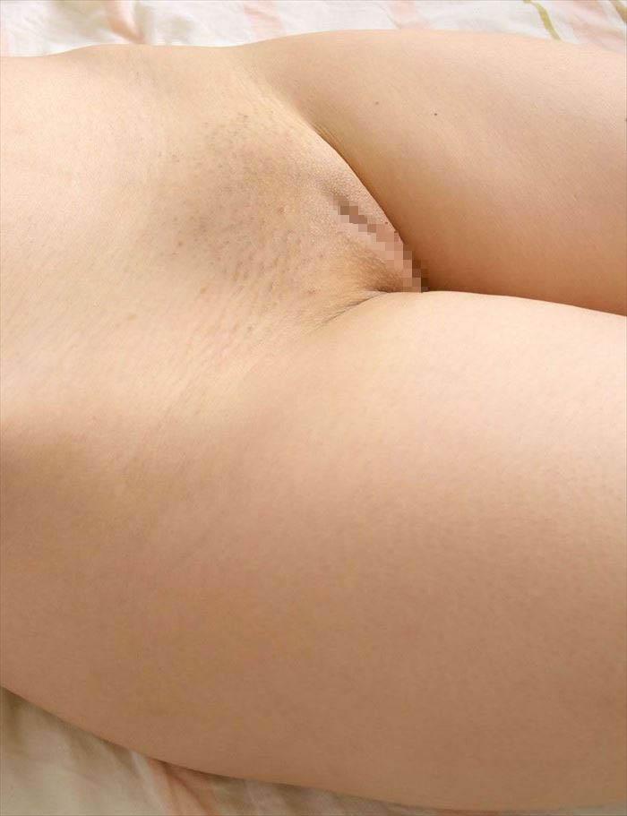 陰毛が生えていないパイパンの股間 (5)