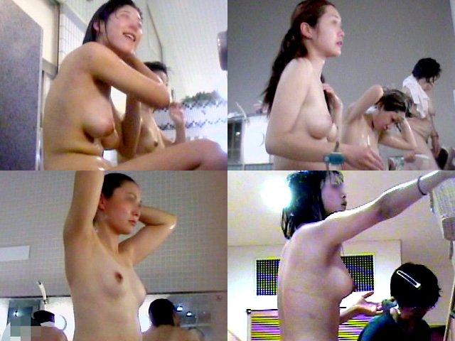 銭湯の女湯で全裸の素人さんを覗く (11)
