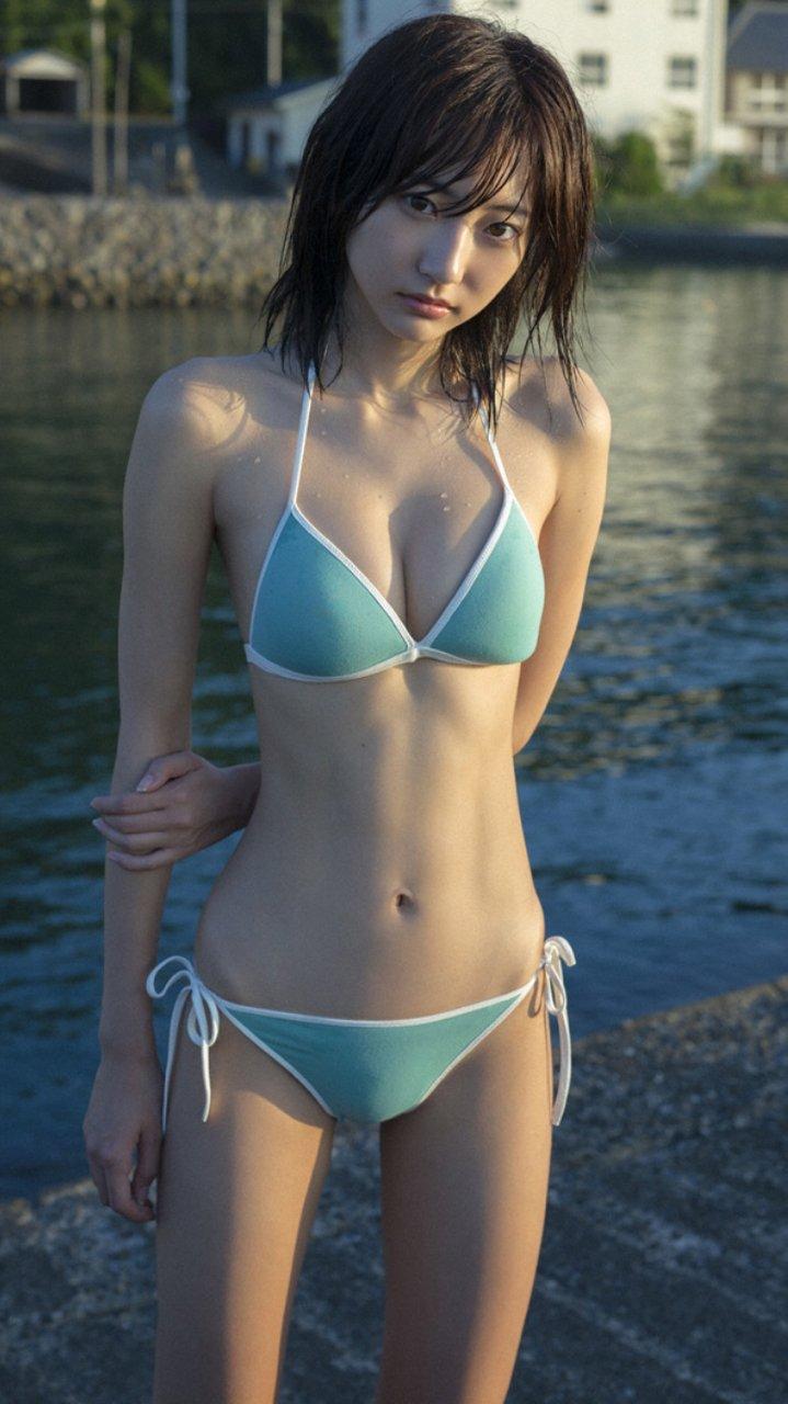 華奢なボディで猫っぽい顔の可愛い女優、武田玲奈 (9)