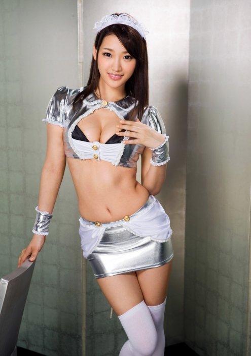 モデル体型の美女が濃厚なSEX、若菜奈央 (2)