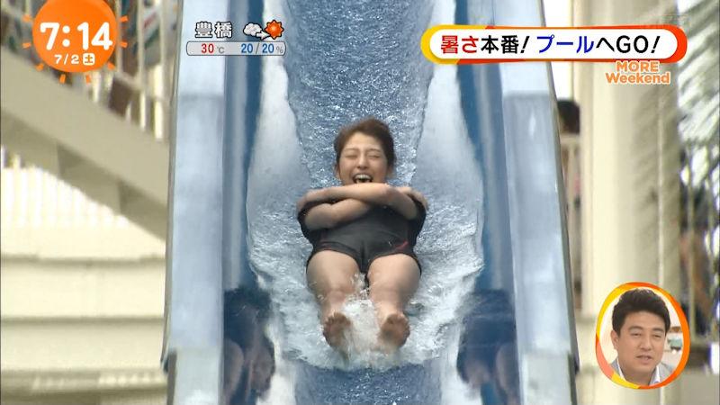 マンスジがクッキリと浮き出ている女の子 (8)