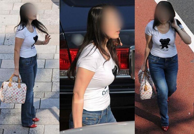 着衣状態でもデカさが分かる巨乳 (4)