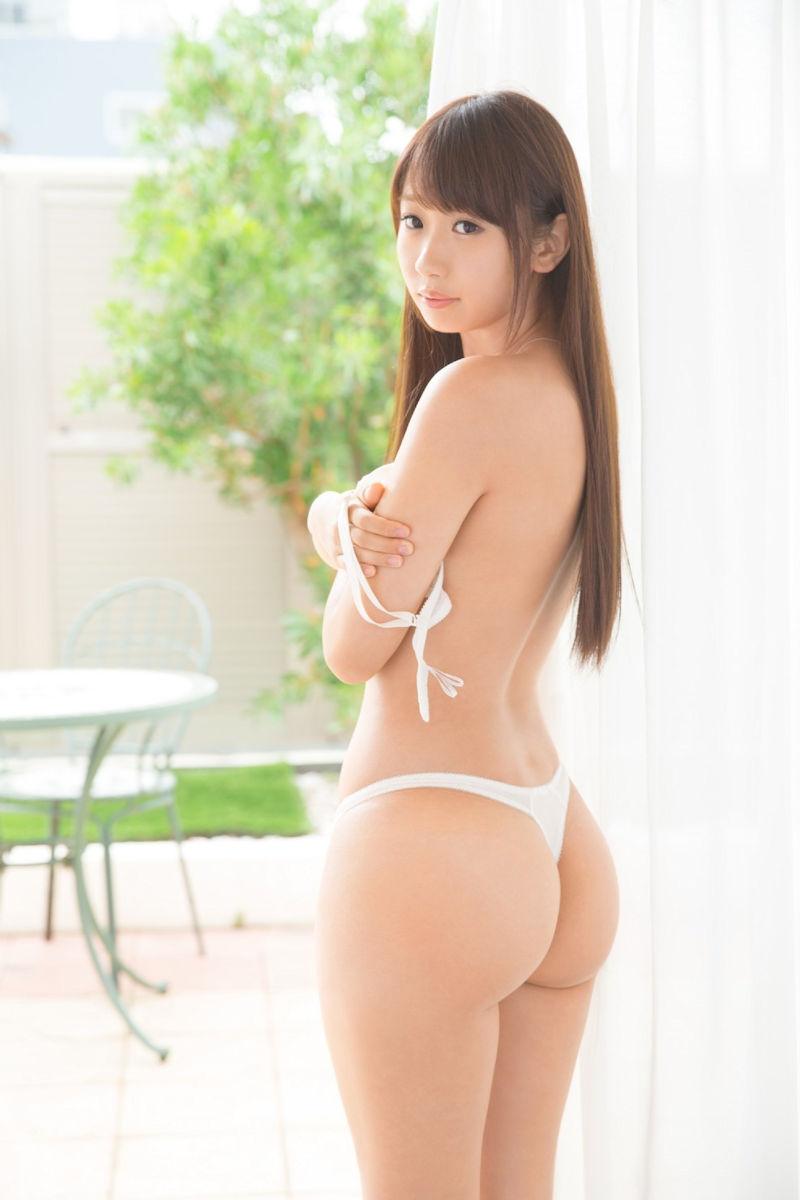 女性の尻を横から眺める美しさ (12)