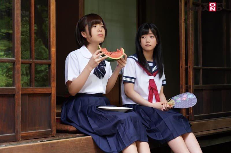 ショートカットの美少女が生ハメでSEX、星咲凛 (10)