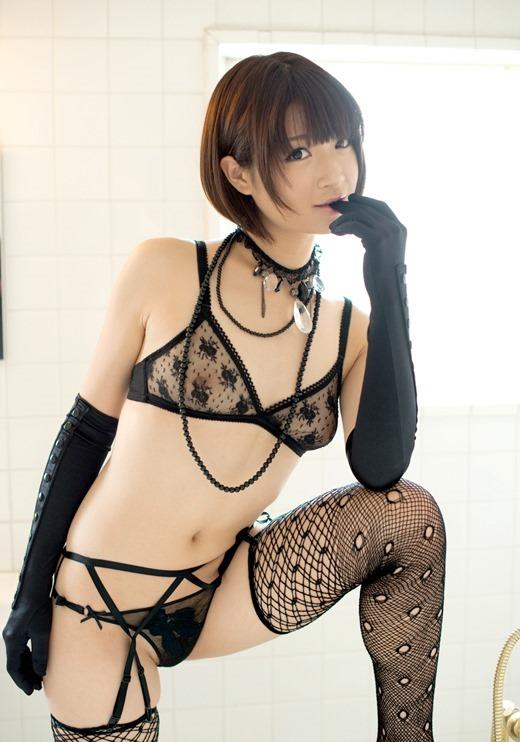 乳首が透けまくりの下着 (4)