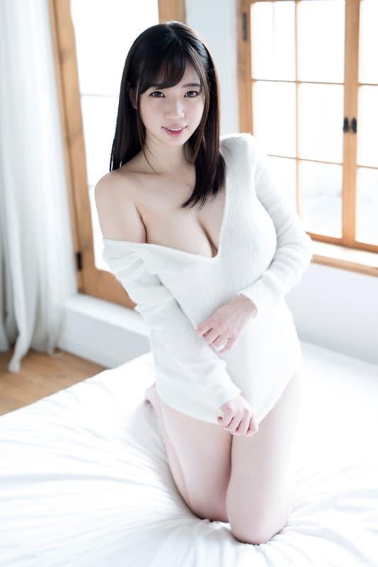 むっちり巨乳を揺らして激しくSEX、斉藤みゆ (11)