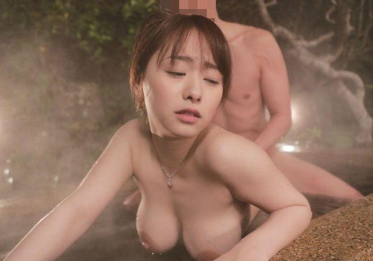 浴室や温泉でSEXしてる男女 (6)
