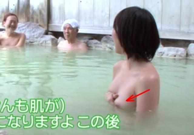 乳首や乳輪がポロリしてるキャプチャ画像 (20)