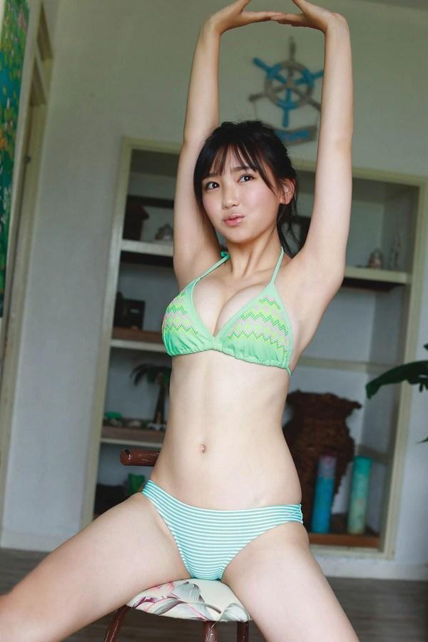 可愛い顔にエッチな体、沢口愛華 (10)