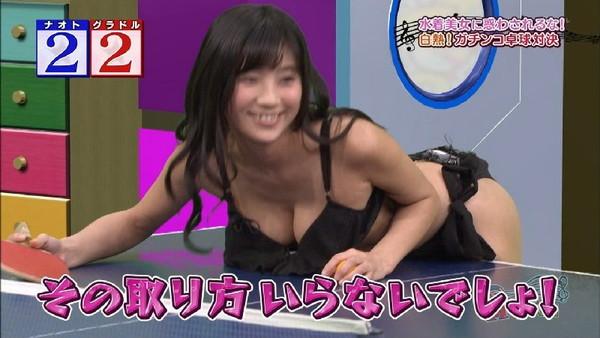 TVで胸の谷間や乳首が見えた瞬間 (4)