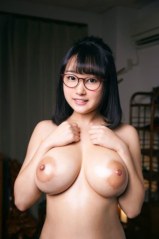 デカ乳輪の爆乳を揺らして変態SEX、若本あん (14)