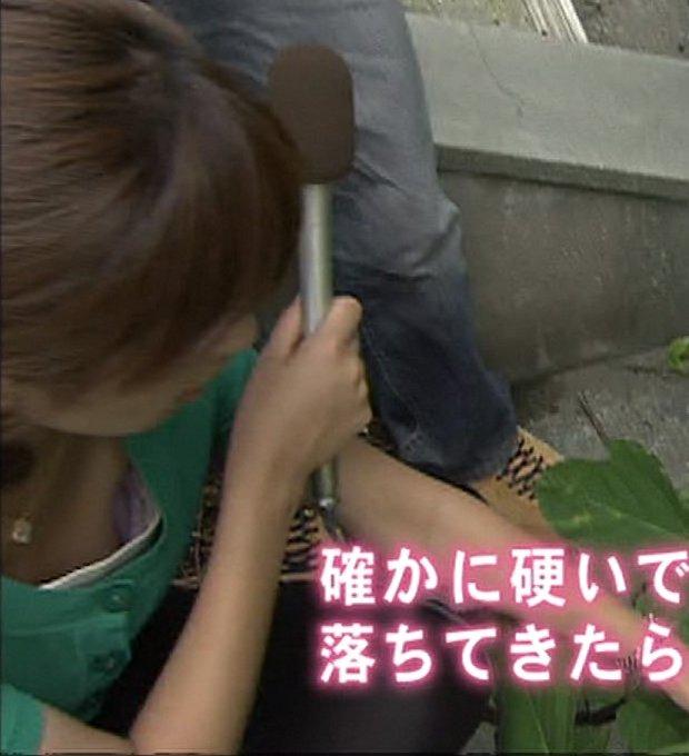 TVで胸チラが放送されたハプニング (17)