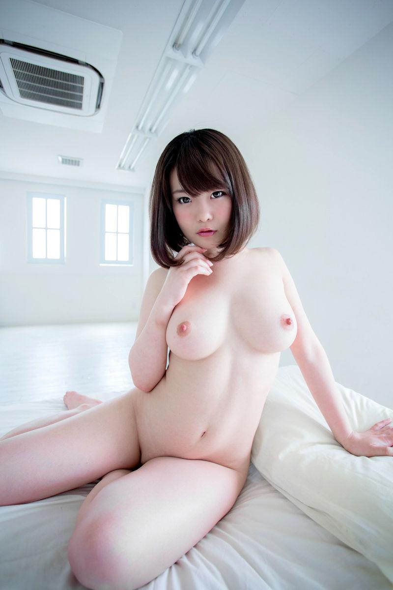 パイパン女性の綺麗なヌード (3)