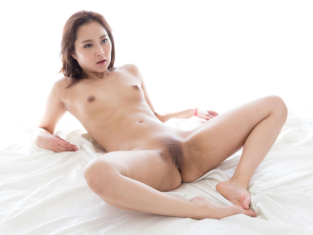 パイパン女性の綺麗なヌード (16)