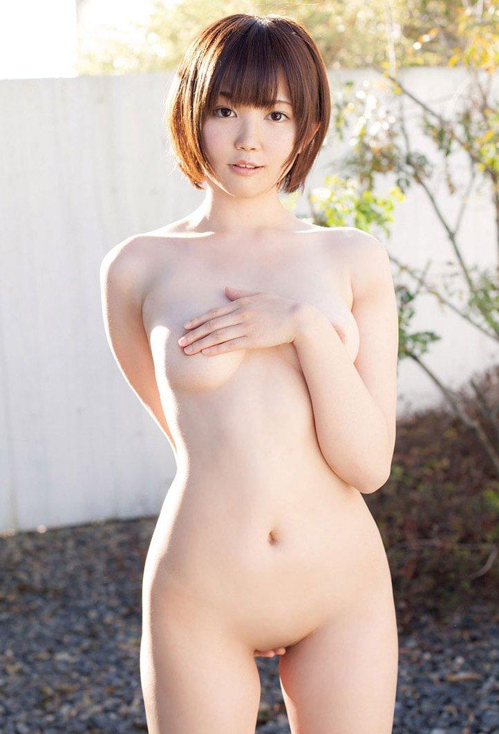 パイパン女性の綺麗なヌード (20)