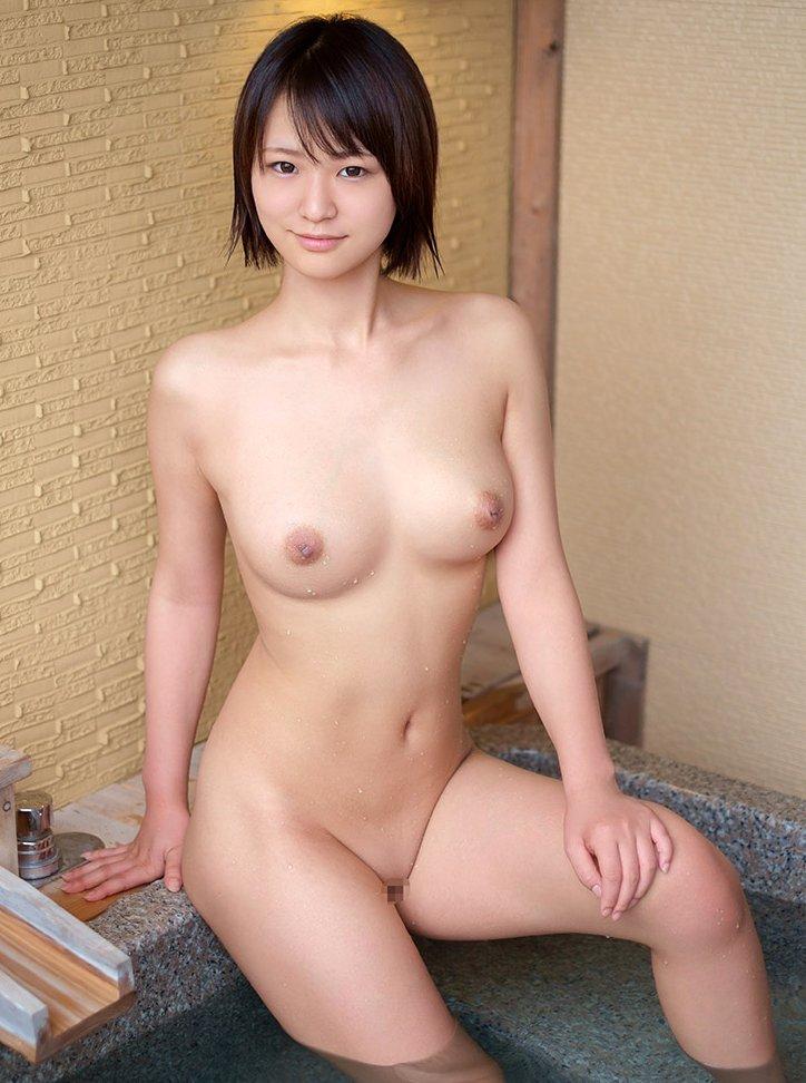 パイパン女性の綺麗なヌード (19)