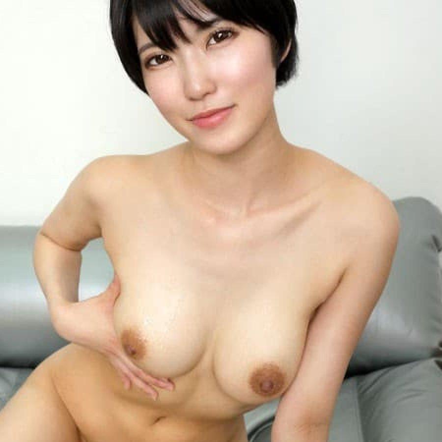 【東条蒼】スレンダー美巨乳のショートカット美少女がイキ潮セックスで生中出し