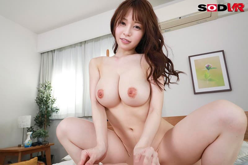 美巨乳美女の濃厚SEX、みながわ千遥 (19)