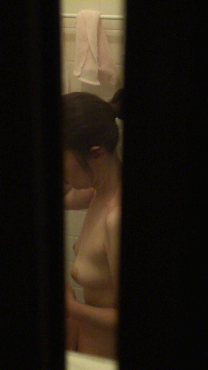 自宅で入浴中の素人さん (12)
