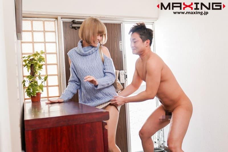 金髪美女の濃厚SEX、月乃ルナ (3)