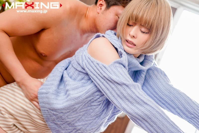 金髪美女の濃厚SEX、月乃ルナ (5)