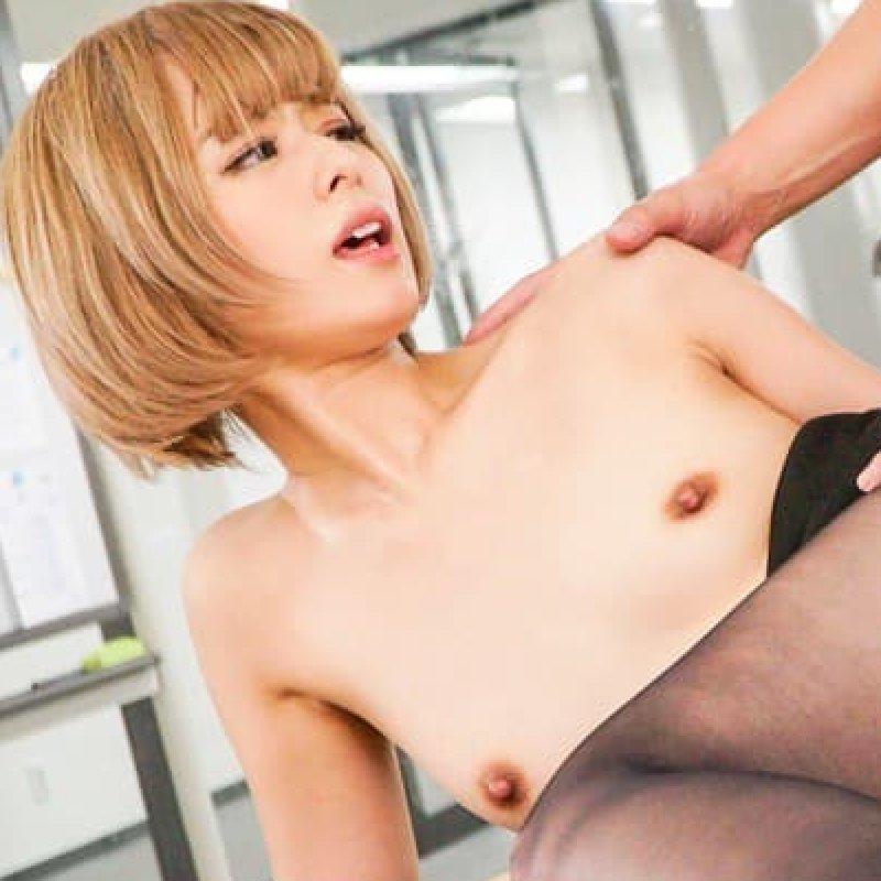金髪美女の濃厚SEX、月乃ルナ (1)