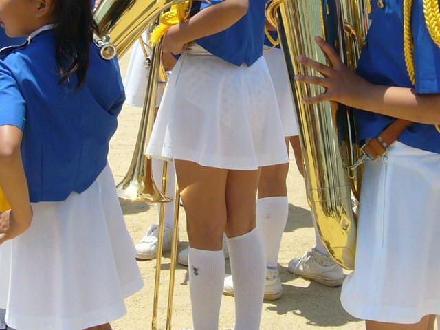 透けスカート