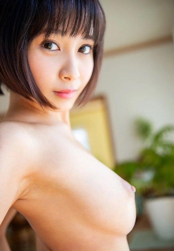 ミニマム巨乳の美少女が豪快SEX、逢見リカ (5)