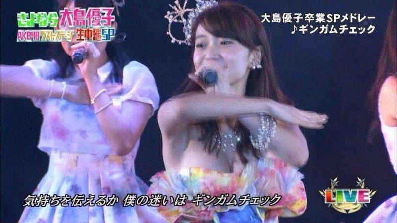 アイドルのパンチラや胸チラ (3)