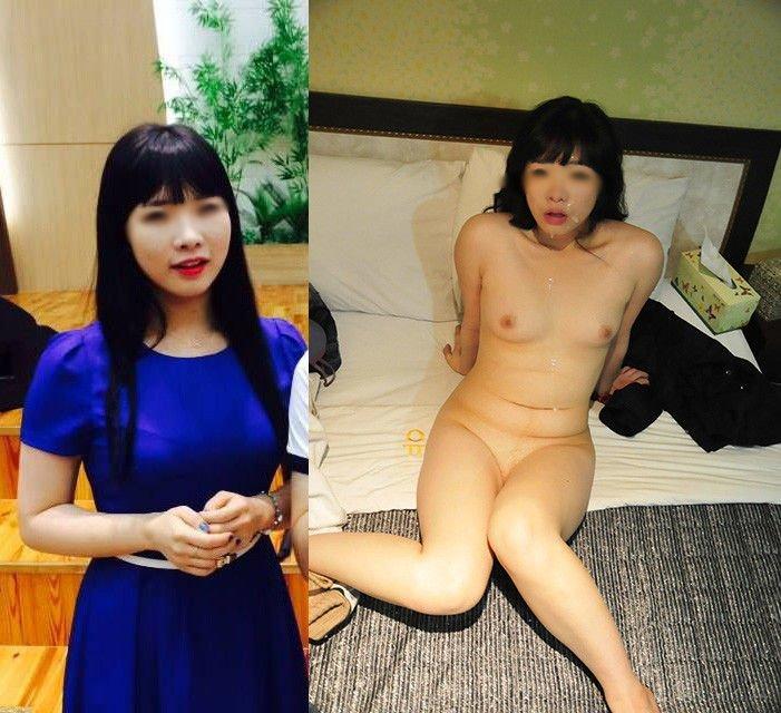 素人女子の着衣と裸 (15)