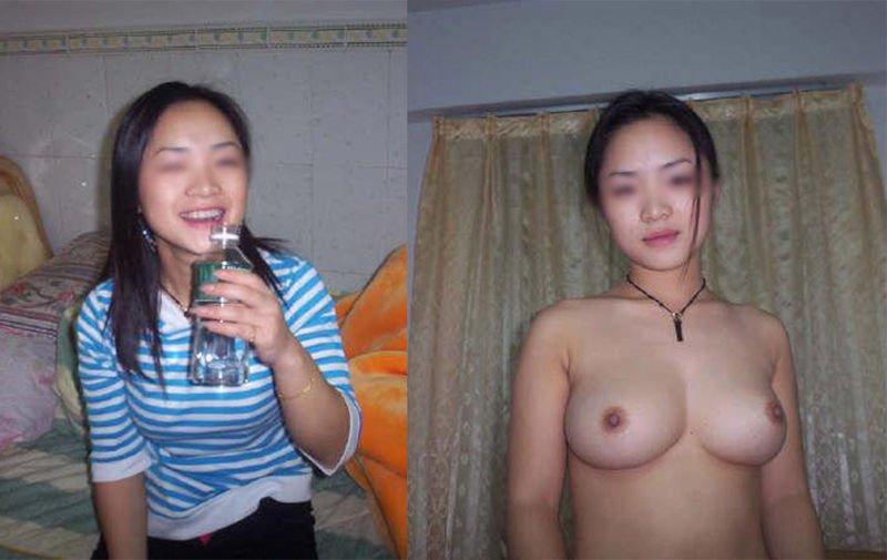 素人女子の着衣と裸 (13)