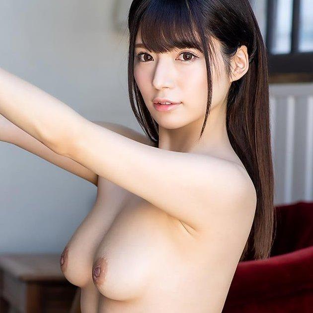 【桜羽のどか】スレンダー美巨乳の清楚系美少女が性欲爆発セックス