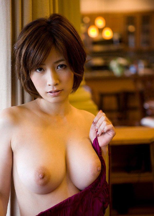 巨乳美女の痴女SEX、奥田咲 (2)