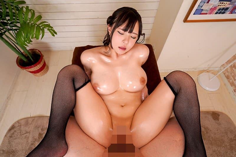 色白爆乳娘の本気SEX、生野ひかる (24)
