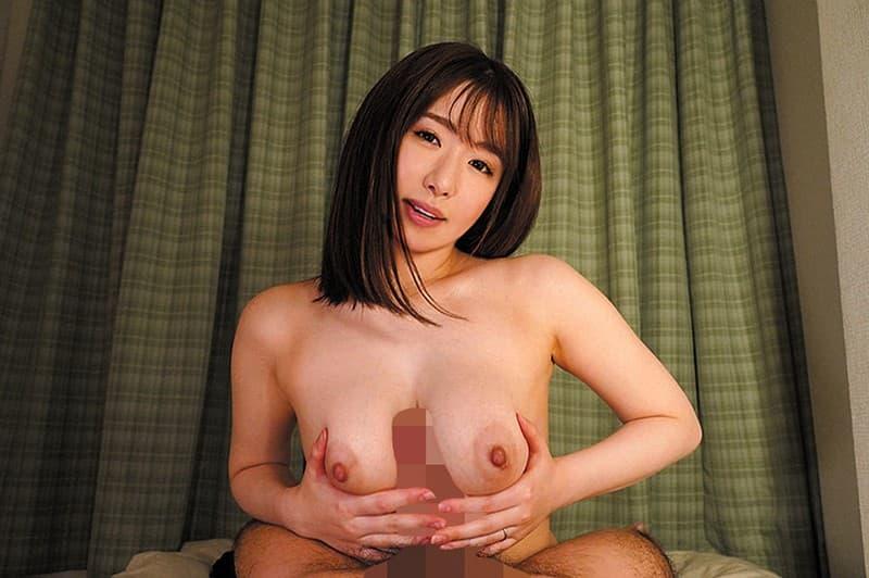 巨乳美女の淫乱SEX、河北はるな (12)