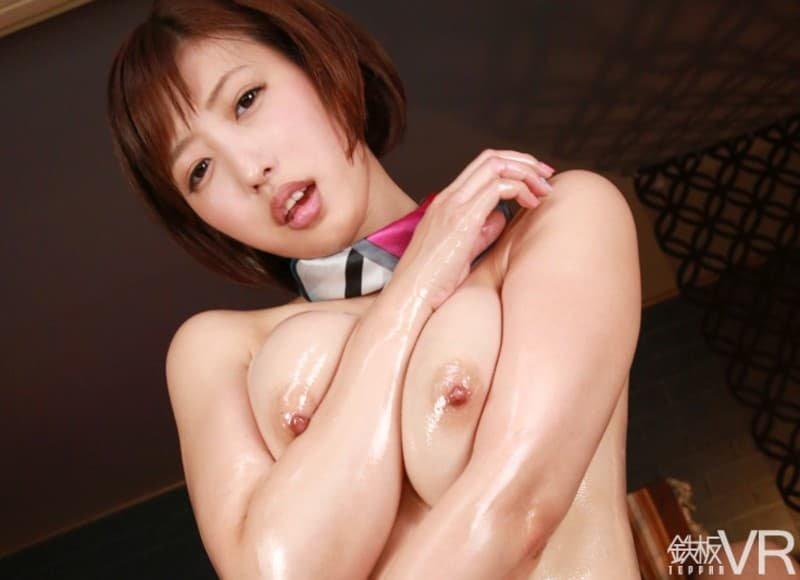 巨乳美女の激しいSEX、水野朝陽 (16)