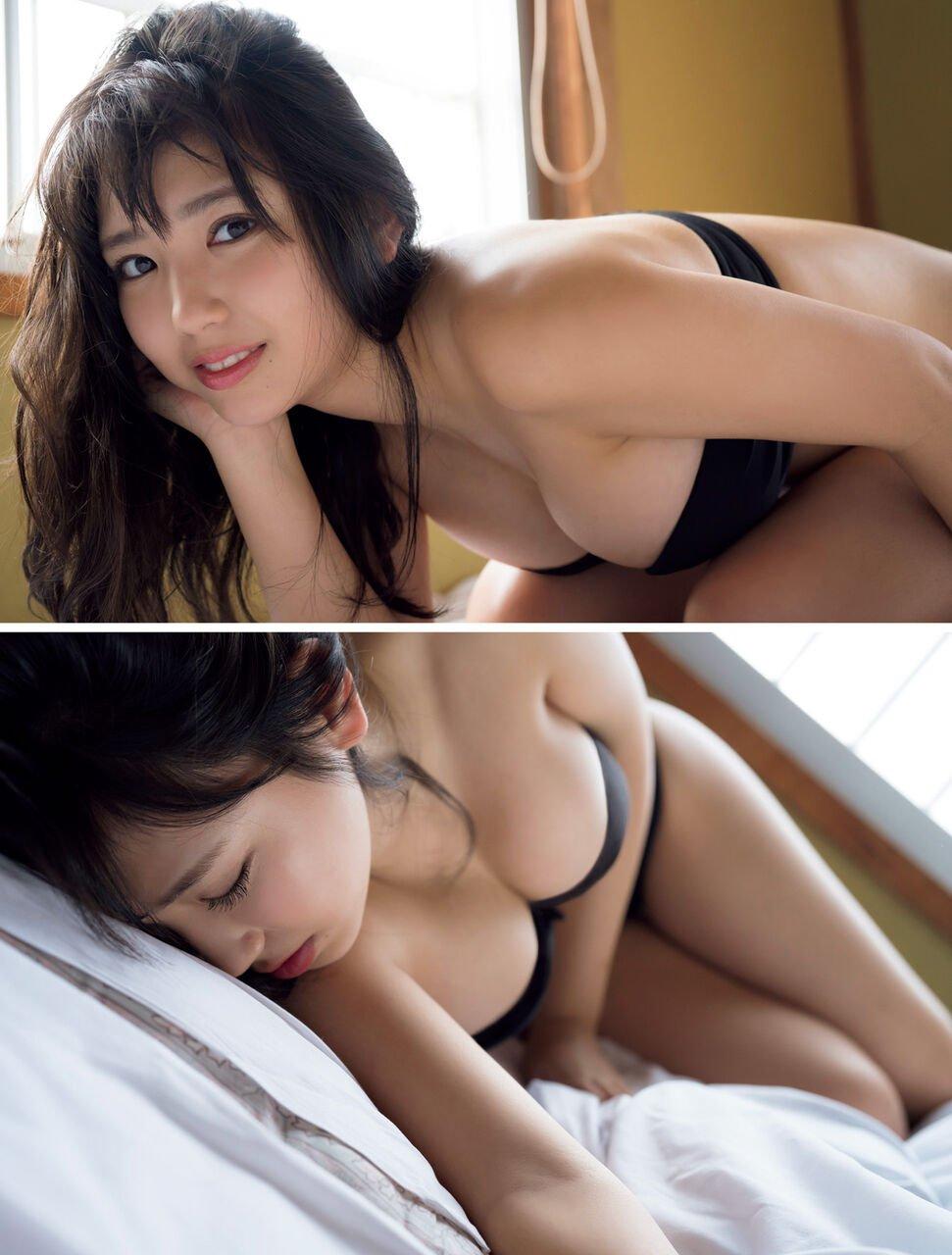 可愛い顔にHカップ巨乳の沢口愛華 (19)