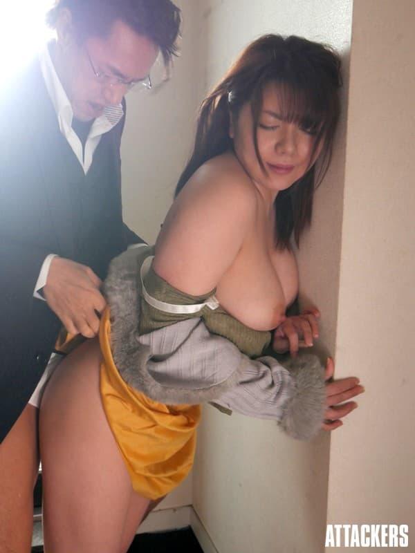 美巨乳美女の濃厚SEX、八神さおり (18)