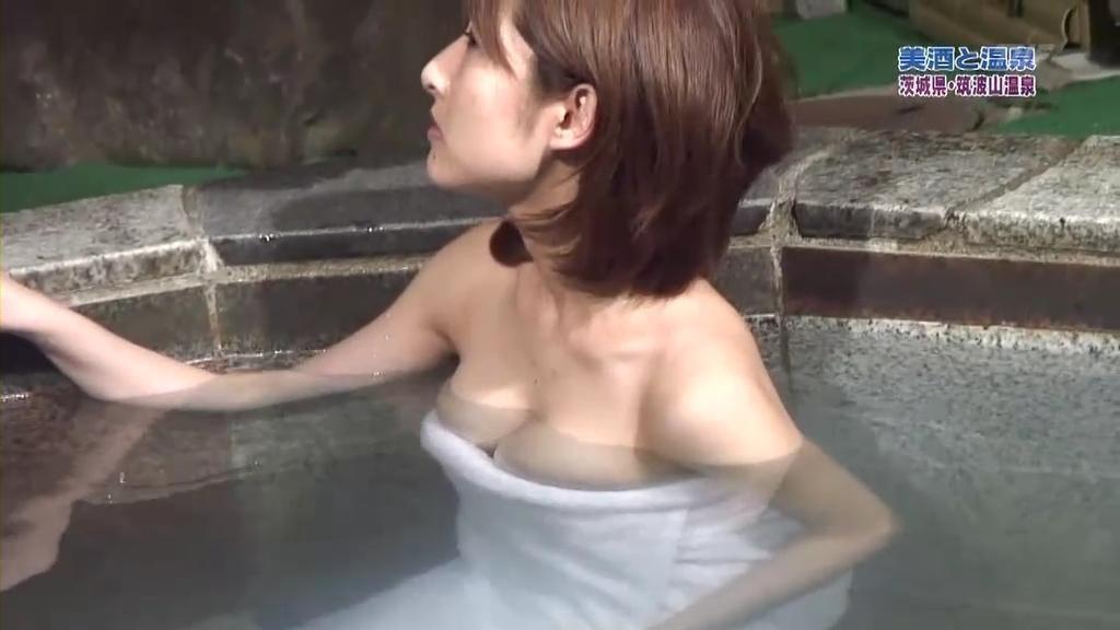 清楚な女子アナのセクシーな巨乳 (6)