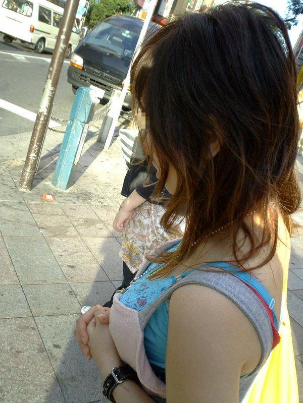 街で出会った着衣巨乳の素人女子 (14)