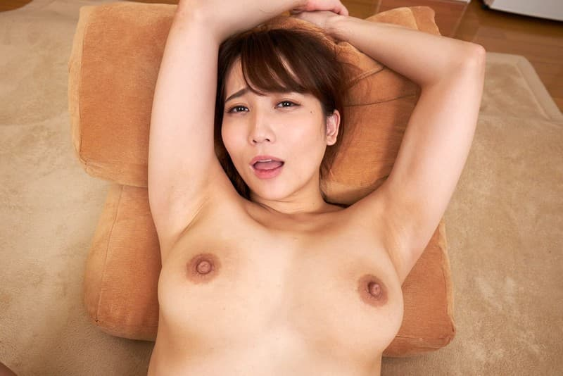 巨乳美女の騎乗位SEX、倉多まお (10)