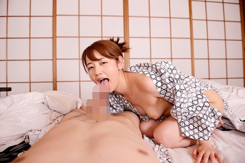 キュートな美女の騎乗位SEX、美咲かんな (8)