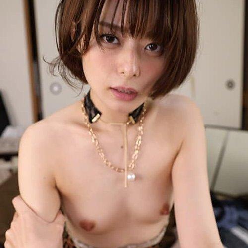 【月乃ルナ】クール系のショートヘア美少女が全力セックスで生中出し