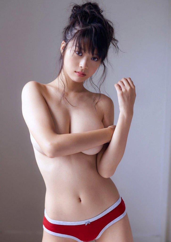 巨乳美人なモグラ女子、馬場ふみか (9)