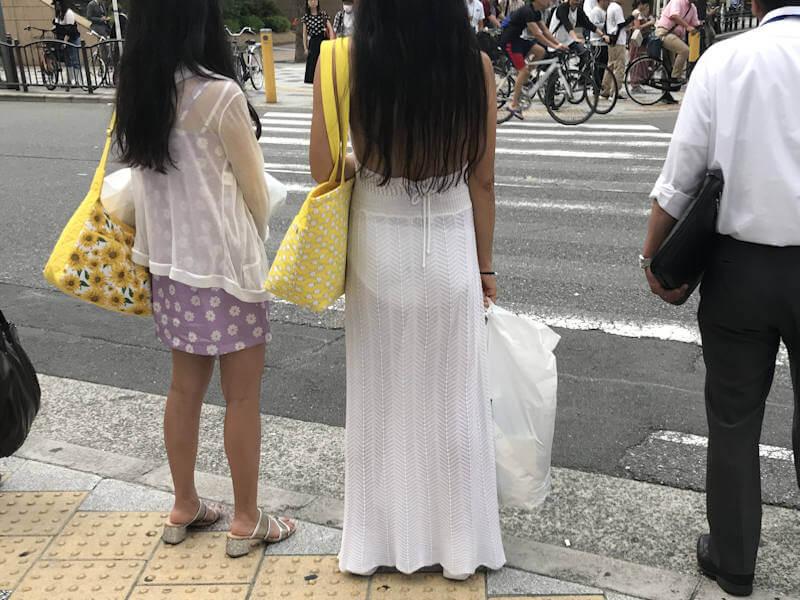 透けパンしてるお尻 (9)