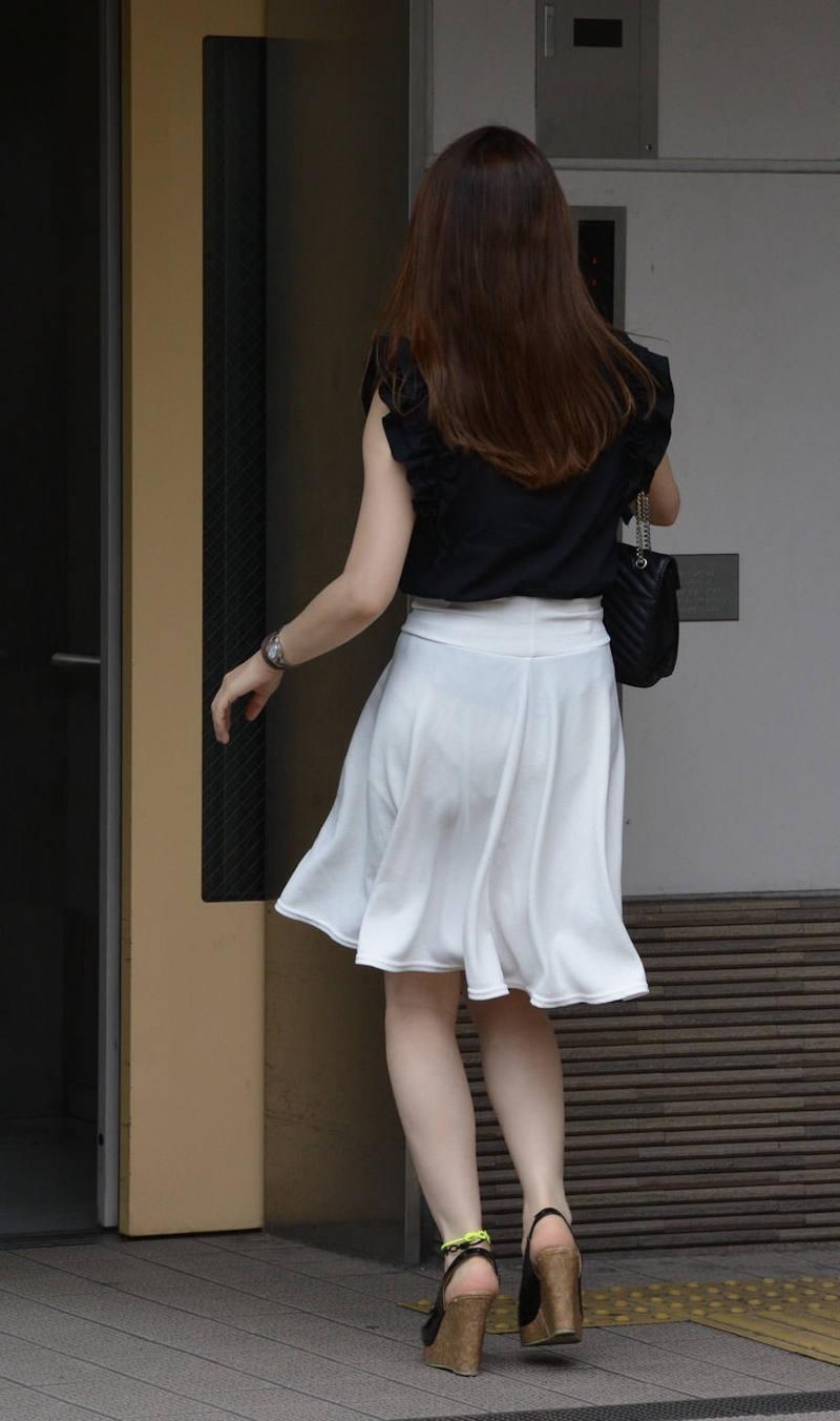 透けパンしてるお尻 (3)