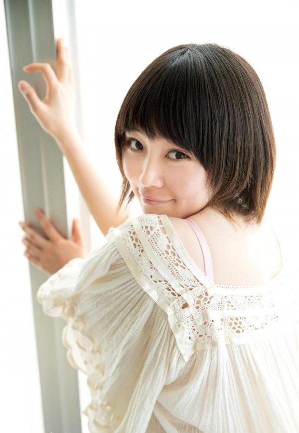 パイパン美少女の腰振りSEX、椎菜アリス (4)