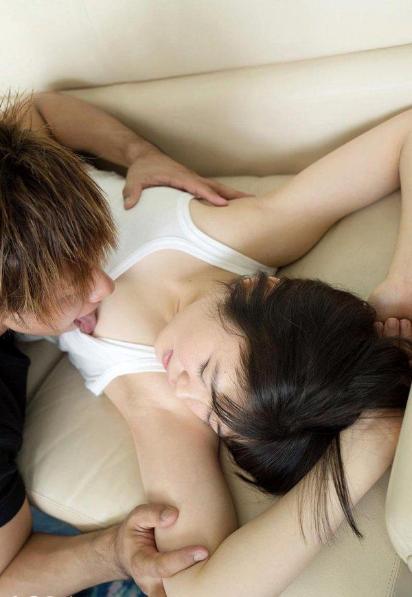 パイパン美少女の腰振りSEX、椎菜アリス (7)