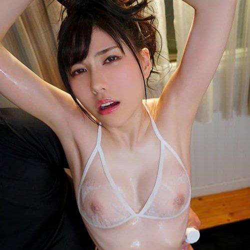 【藍芽みずき】清楚なキレイ系美少女が変態セックスで絶頂中出し
