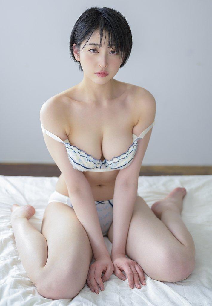 美巨乳美女の淫乱SEX、夏目響 (4)